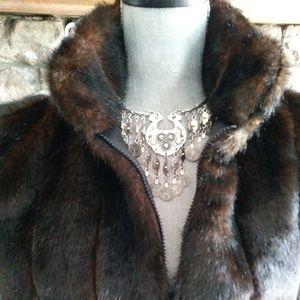 Reversible Perfect faux fur vest